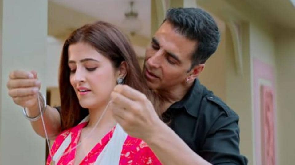 Akshay Kumar made his music video debut with Nupur Sanon in Filhall