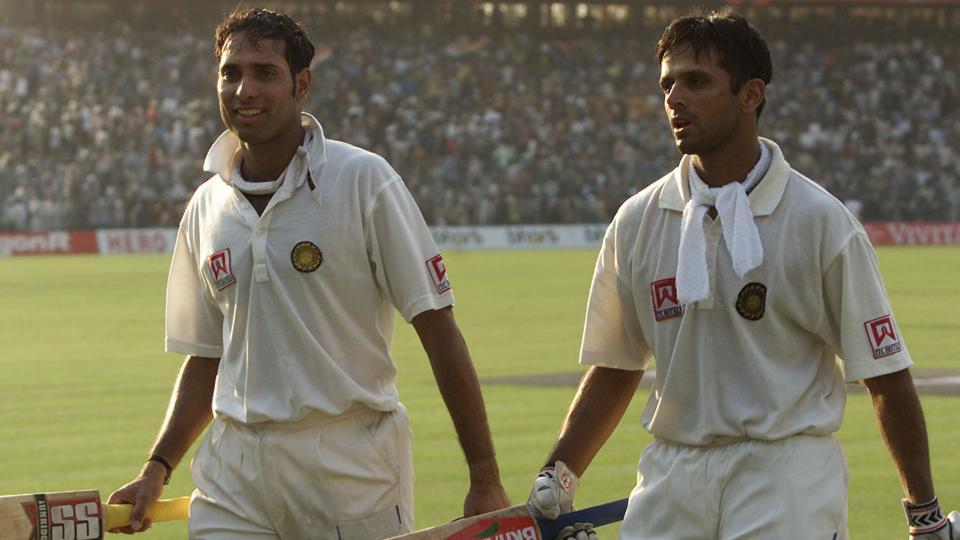 Image result for Dravid laxman 2001 Eden