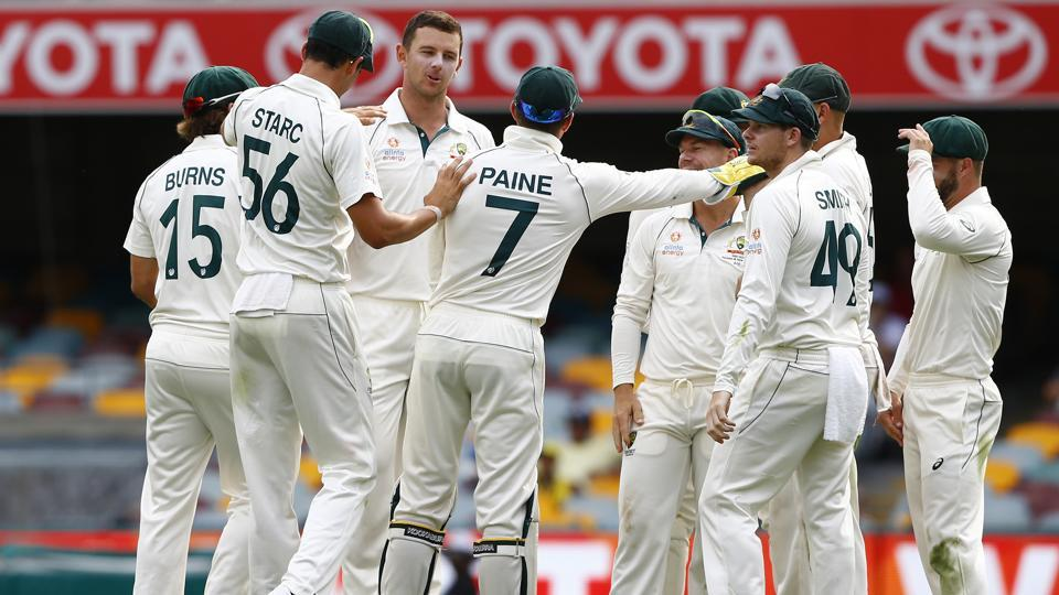 Australia went one up in their two-Test series against Pakistan