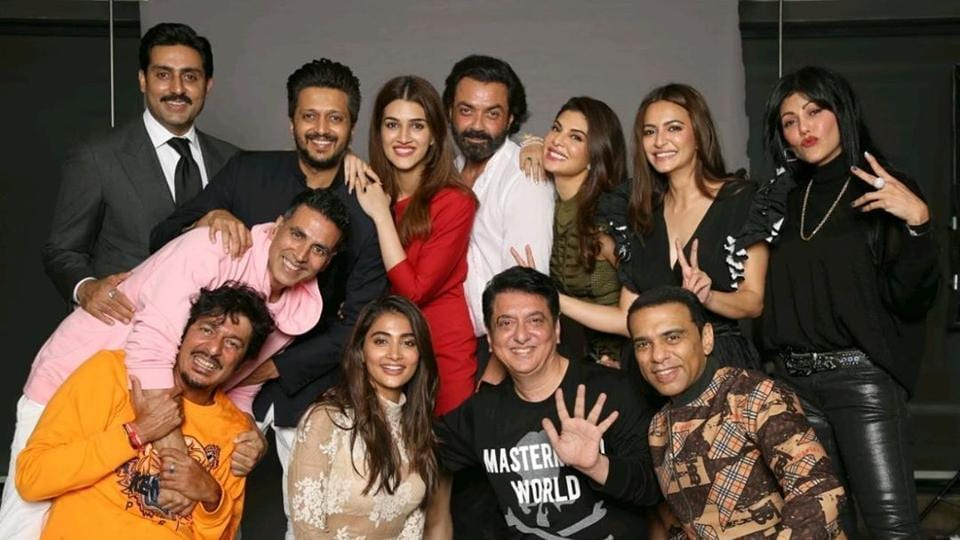 The Housefull 4 cast along with a few previous franchise members celebrated the success of Housefull 4 on Sunday.