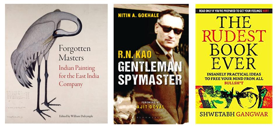 Exquisite paintings, the  life of a genius spymaster, and a book on freeing your mind - all that on the reading list this week!