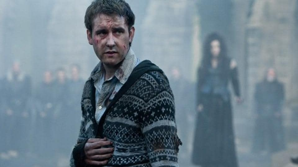 Matthew Lewis in a still from Harry Potter and the Deathly Hallows: Part II.