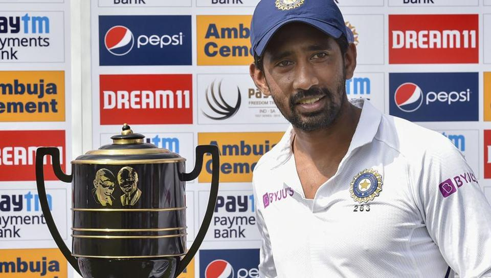 India wicket-keeper batsman Wriddhiman Saha