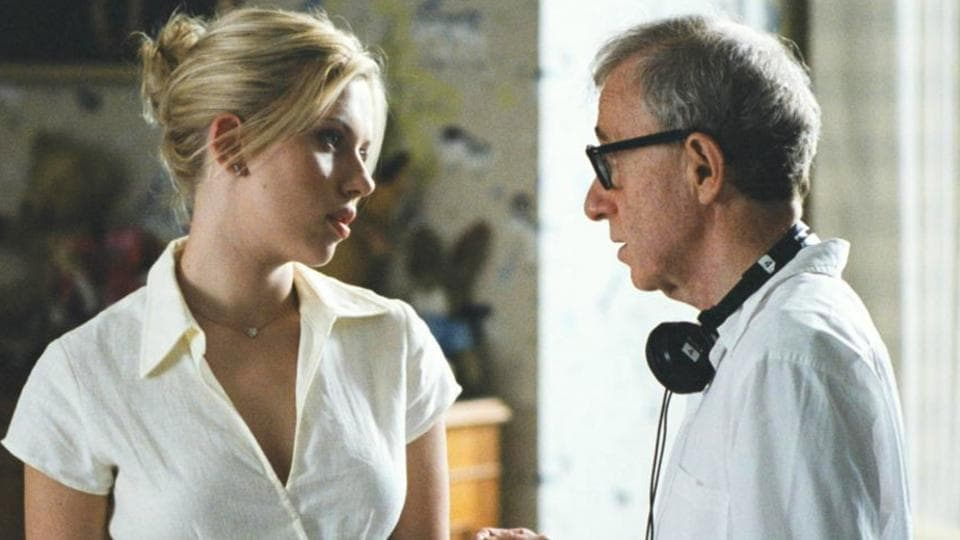 Scarlett Johansson and Woody Allen have worked on three films together.