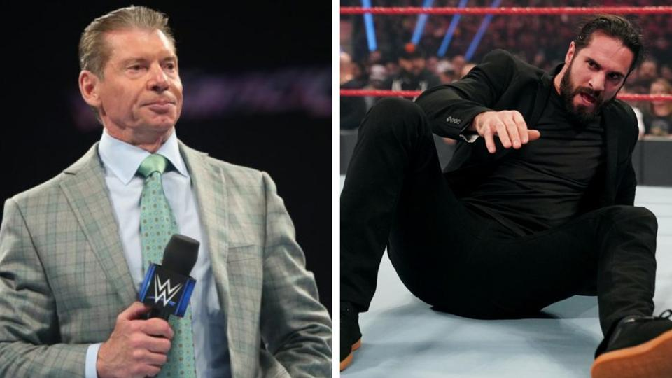 Vince McMahon is unhappy with Seth Rollins.