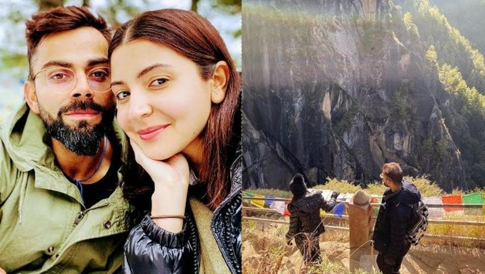 Virat Kohli has shared a throwback picture from his and Anushka Sharma's Bhutan vacation.