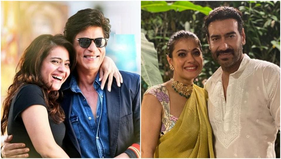 Kajol, who is married to Ajay Devgn, described Shah Rukh Khan as a friend for life.