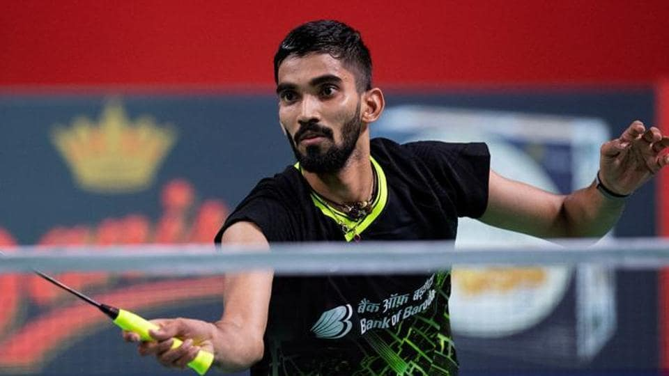 File image of Indian shuttler Kidambi Srikanth.