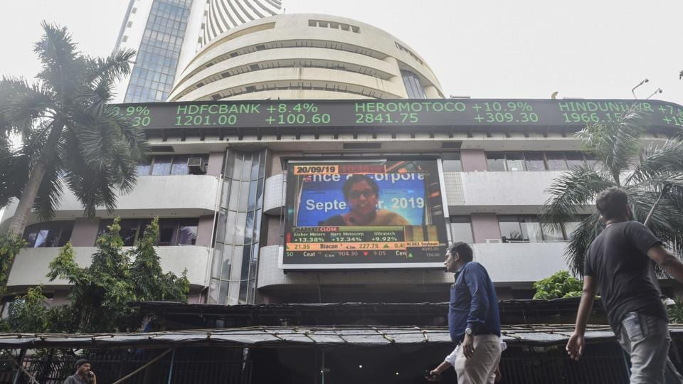 On Tuesday, the Sensex touched its all-time intra-day high of 41,120.28 before closing down by 67.93 points or 0.17 per cent at 40,821.30.