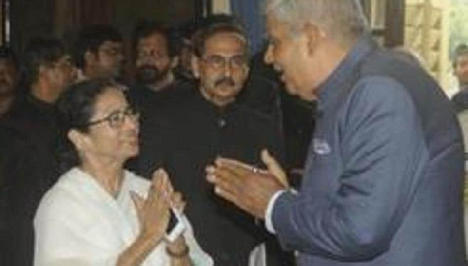 Bengal Chief Minister Mamata Banerjee and GovernorJagdeep Dhankhar have been at loggerheads recently.