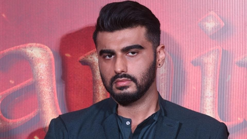 Arjun Kapoor during the song launch of his upcoming film Panipat.