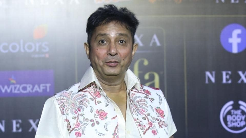 Singer Sukhwinder Singh at the Green Carpet of 20th IIFA Awards, in Mumbai.