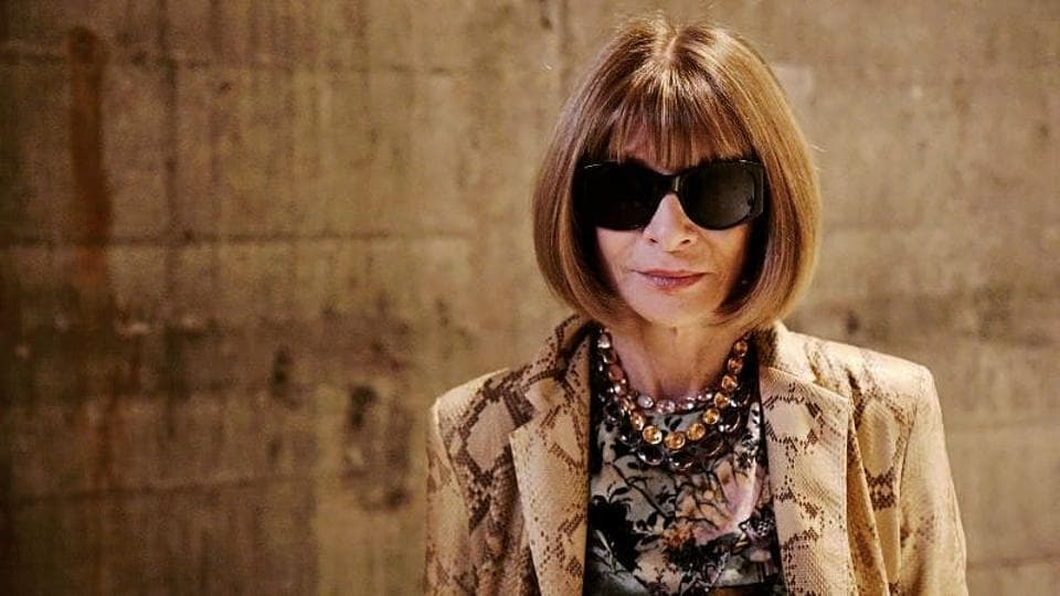 """Wintour, considered one of the most powerful people in fashion, also said the industry was """"a little bit late in the game"""" in pursuing diversity and inclusivity."""