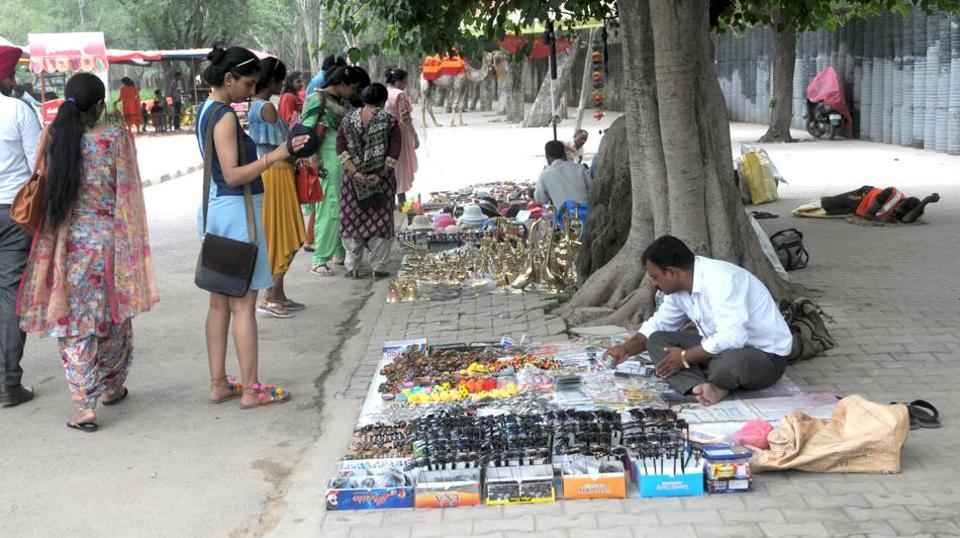 Vendors at Rock Garden have been refusing to accept relocation notices, saying it will hit their livelihood.