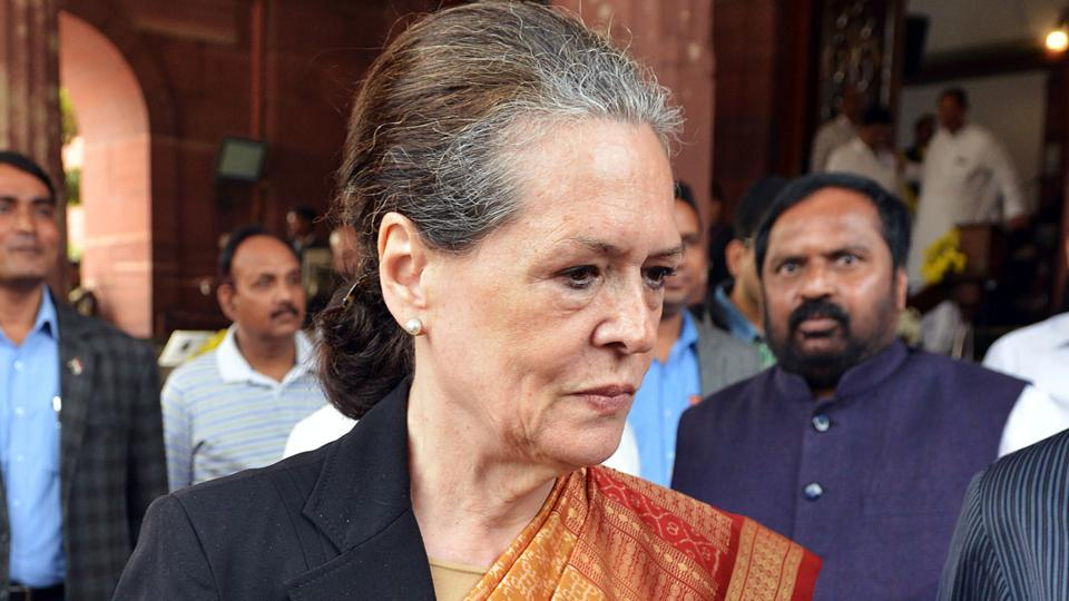 """On the situation in Jammu and Kashmir, Congress chief Sonia Gandhi said democracy was """"subverted"""" when Article 370 was abrogated three months ago under the """"blatantly false promise"""" of a new beginning in Jammu, Kashmir and Ladakh. (ANI Photo)"""