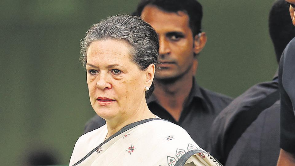 Congress President Sonia Gandhi on Thursday hit out at the BJP.