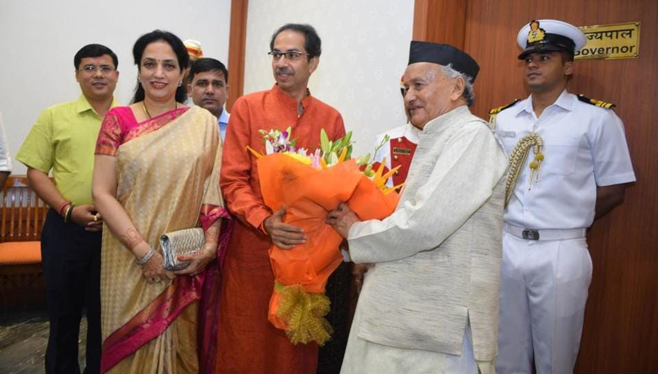 With a Shiv Sena-Congress-Nationalist Congress Party (NCP) regime set to assume office in Maharashtra on Thursday, doubts are being raised over the fate of several infrastructure projects in Mumbai (HT PHOTO)