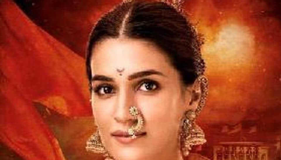 Kriti Sanon plays Parvati Bai, paired opposite Arjun Kapoor in Panipat.