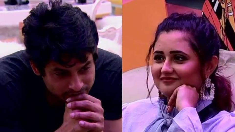 Sidharth Shukla and Rashami Desai have a moment in Bigg Boss 13 in Friday's episode.