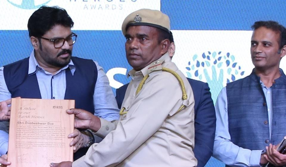Dimbeswar Das is a forest officer at the Kaziranga National Park, Assam. The 53-year-old is the 2019 Earth Hero Award from the Royal Bank of Scotland.