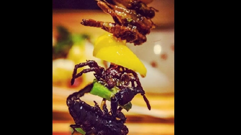 Cambodia's first insect tapas restaurant is mixing cocktail culture with creepy crawler fare.