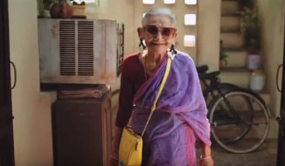 Pushpa Joshi, Bollywood's oldest debutante, died on November 26.