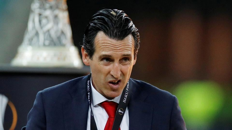 File image of former Arsenal manager Unai Emery.
