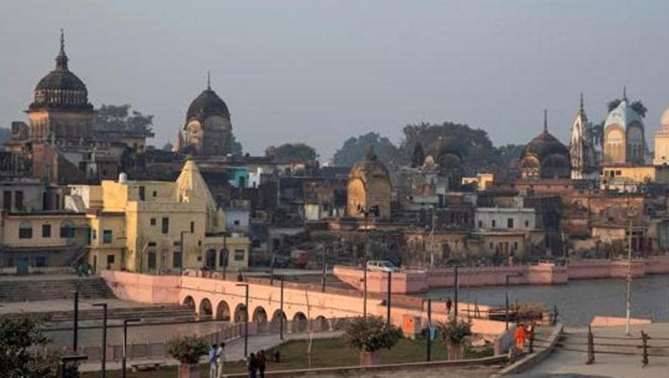 A general view of Ayodhya.