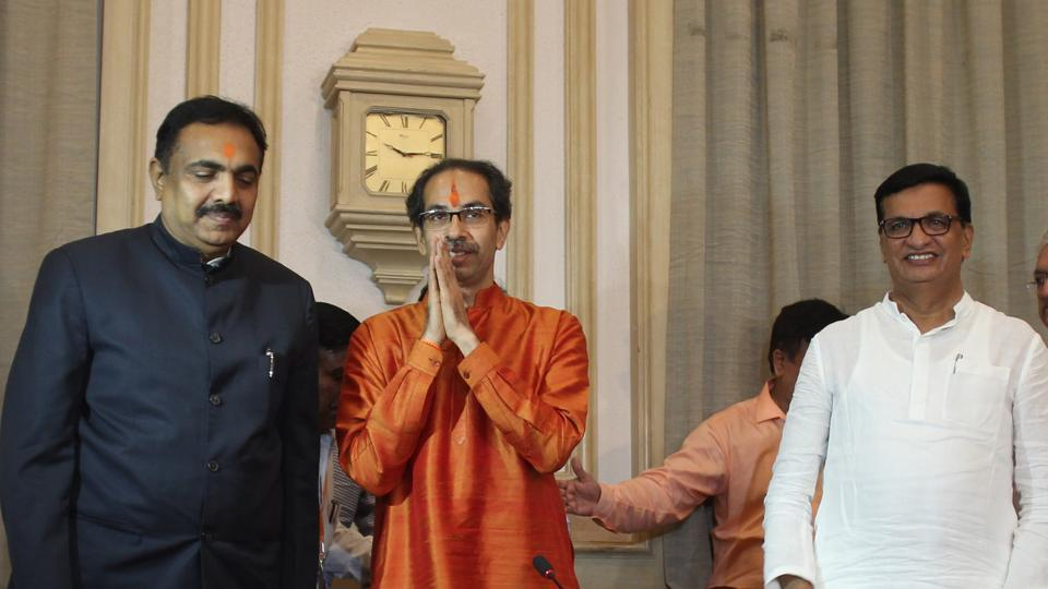 The Shiv Sena and Bharatiya Janata Party secured a majority in last month's elections but the BJP insisted that Devendra Fadnavis would serve as chief minister for the next five years. The Sena wanted the chief minister's post to be shared between the two parties.