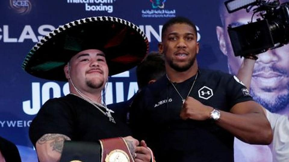 Pressure is all on Joshua, says Ruiz Jr