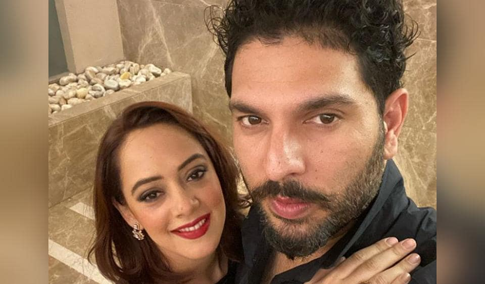 Yuvraj Singh and Hazel Keech wished each other on their anniversary with adorable Instagram posts.