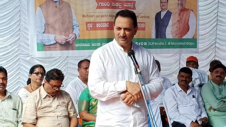 Former Union minister and BJP MP Anantkumar Hegde