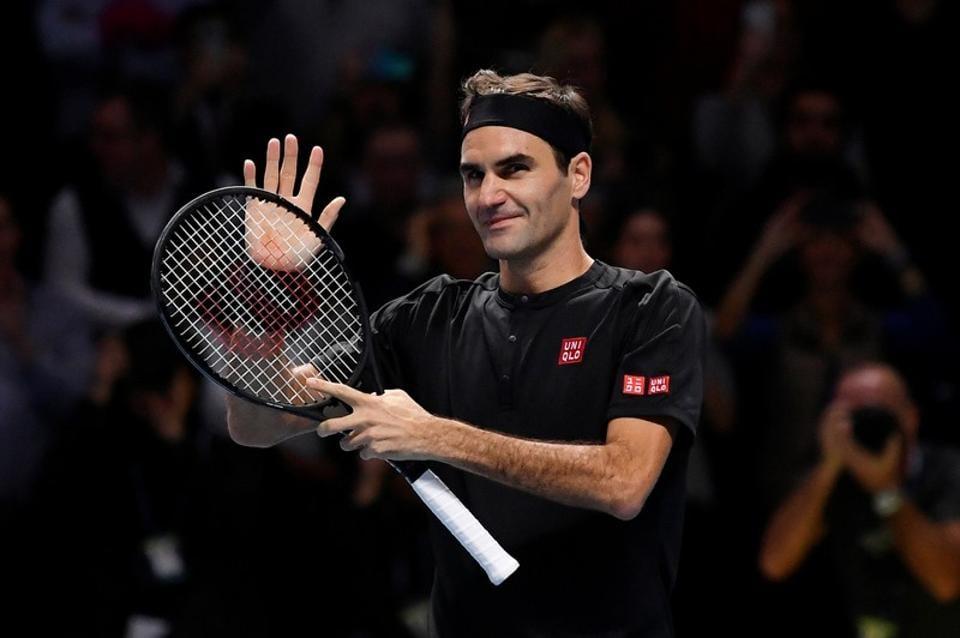 File photo of Roger Federer.