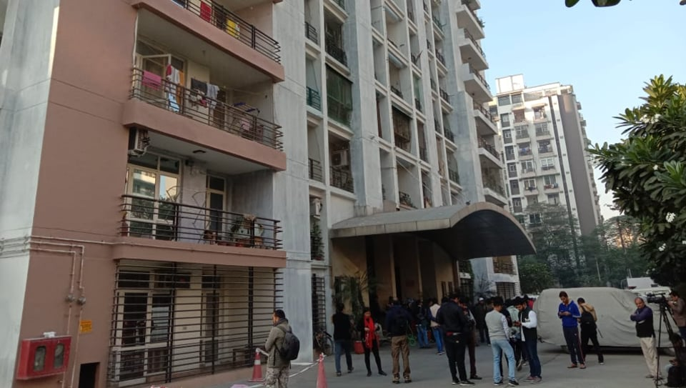 The couple jumped to death from the 7th floor of the  high rise in Indirapuram, Ghaziabad, on the morning of December 3, 2019.