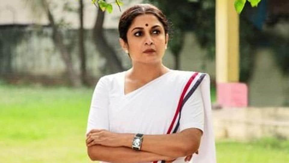 Ramya Krishnan as J Jayalalithaa in web series, Queen.