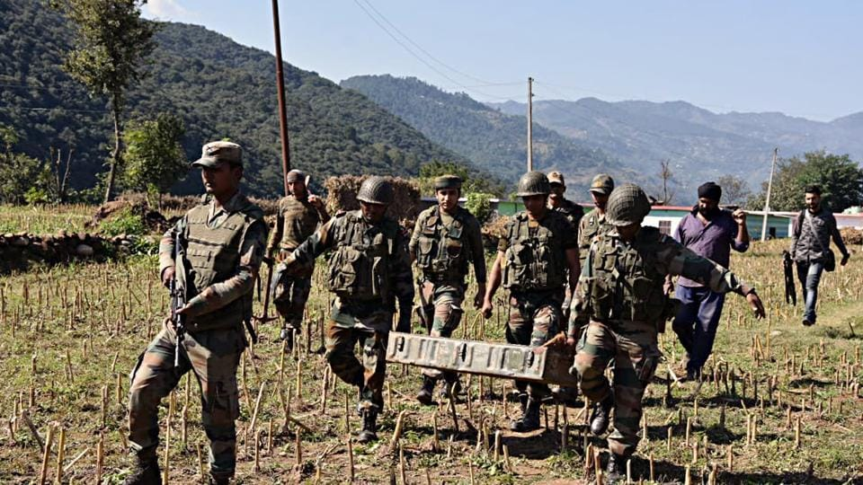 In the Pakistani firing and shelling, one woman was killed and eight others were injured in Shahpur sector, a police officer said. Image used for representational purpose only.