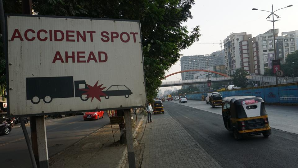 The accident on Pune-Mumbai highway occurred at 4.15 am on Sunday, while the accident in Shivajinagar took place at 1.30 am on Sunday. (Representational image)