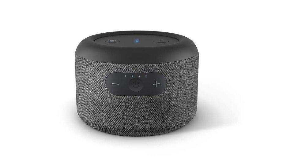 Amazon EchoInput portable speaker.