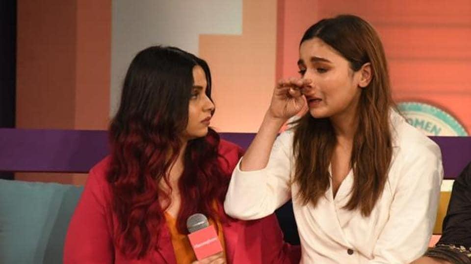 Alia Bhatt and Shaheen Bhatt at a recent event.