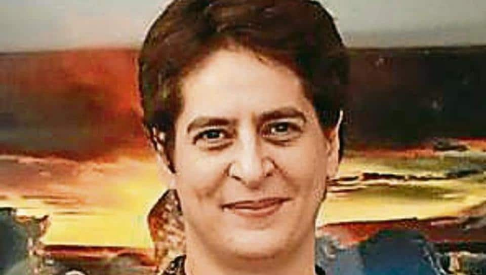 Three security officers have been suspended and a high-level probe has been ordered into a security lapse at Congress leader Priyanka Gandhi Vadra's residence