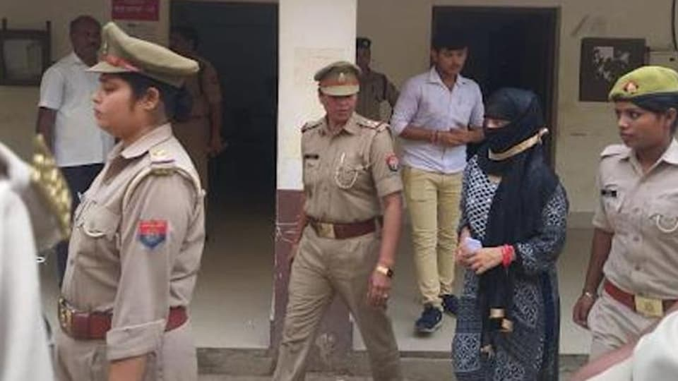 Seen here is the UPlaw student who accused Chinmayanand of rape. (Photo: Sourced)