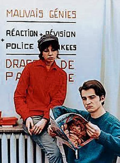A still from La Chinoisie (1967), Jean Luc Godard's film on student politics