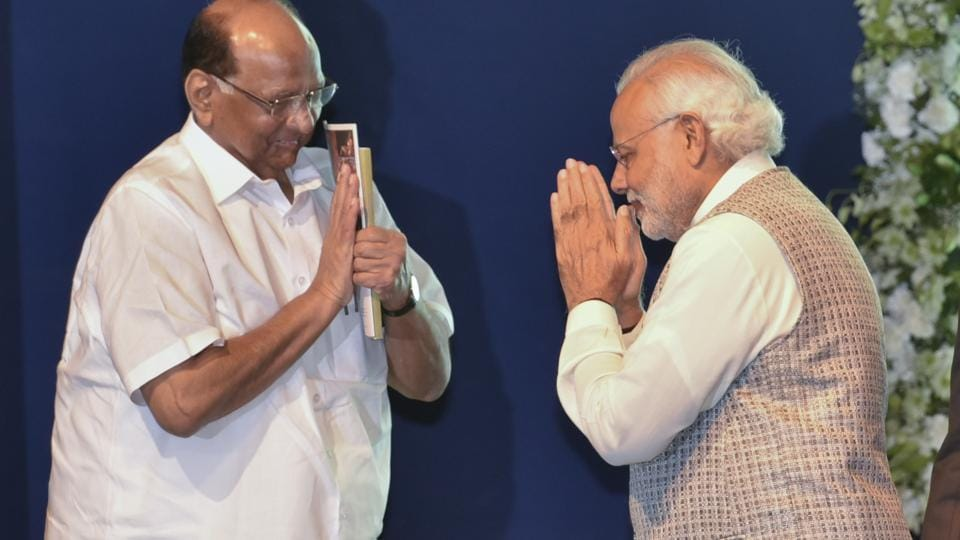 In an interview to a Marathi news channel, Sharad Pawar had said that during his meeting with Prime Minister Narendra Modi last month, PM Modi had inquired if the two parties could work together.