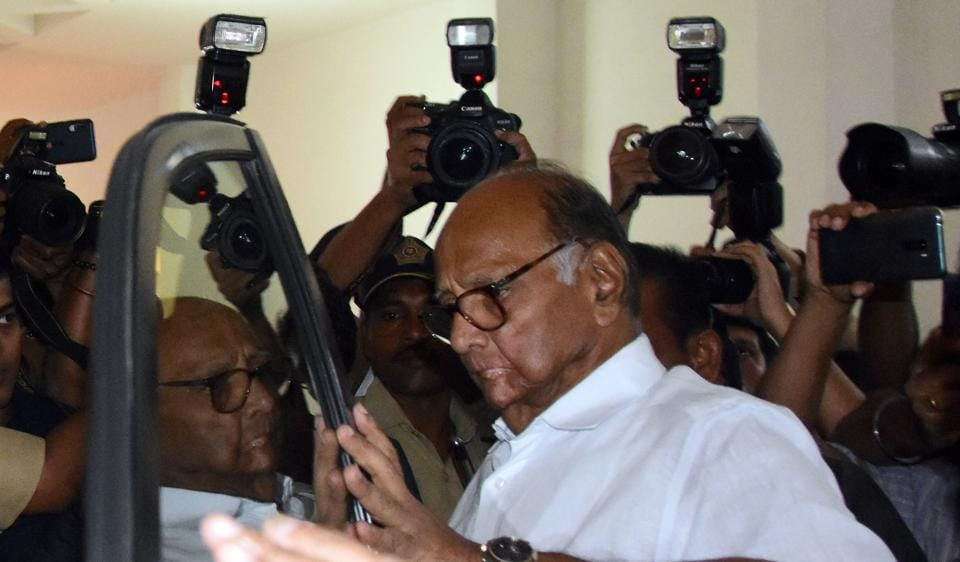 Sharad Pawar played on the deep fear regional parties have begun to harbour about the take-no-prisoners politics