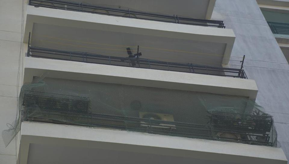 A businessman and his wife jumped from the eighth floor of a residential society, at Indirapuram, in Ghaziabad,  on Tuesday, December 3, 2019.