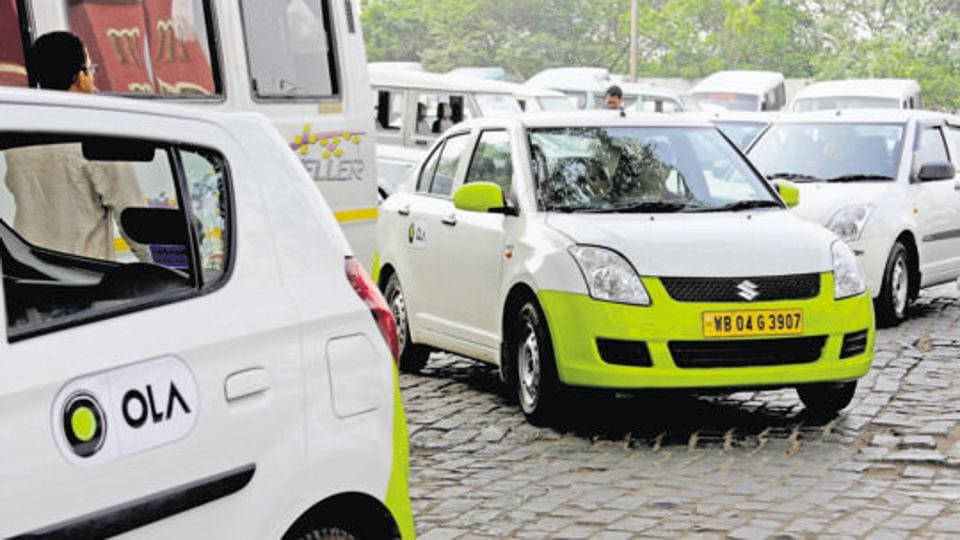 The Ola cab driver filed a complaint of a robbery case at the Chanakyapuri police station