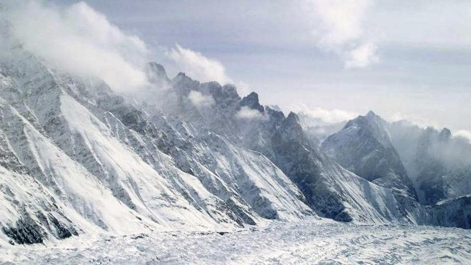 A snow avalanche hit an Army post in Tangdhar area of Kupwara district on Tuesday afternoon where at least two soldiers were trapped.