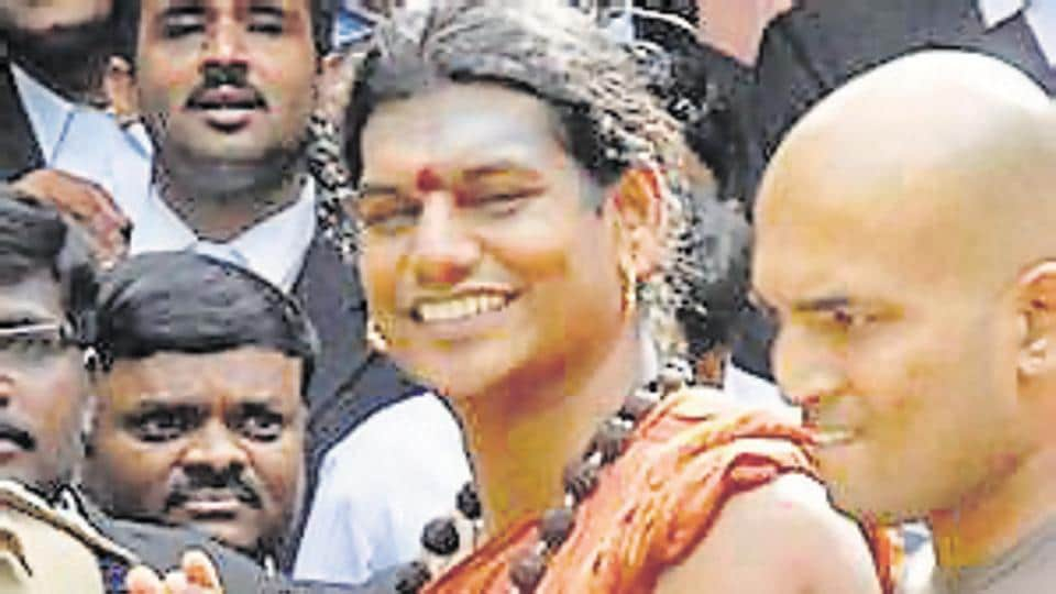 """Self-styled godman Nithyananda, who is on the run after facing charges of rape, has reportedly set up a new """"nation"""" called Kailaasa"""