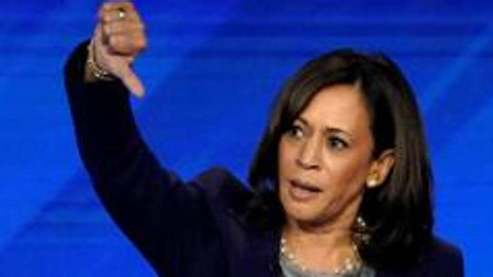 Senator Kamala Harris is out of the 2020 presidential race .