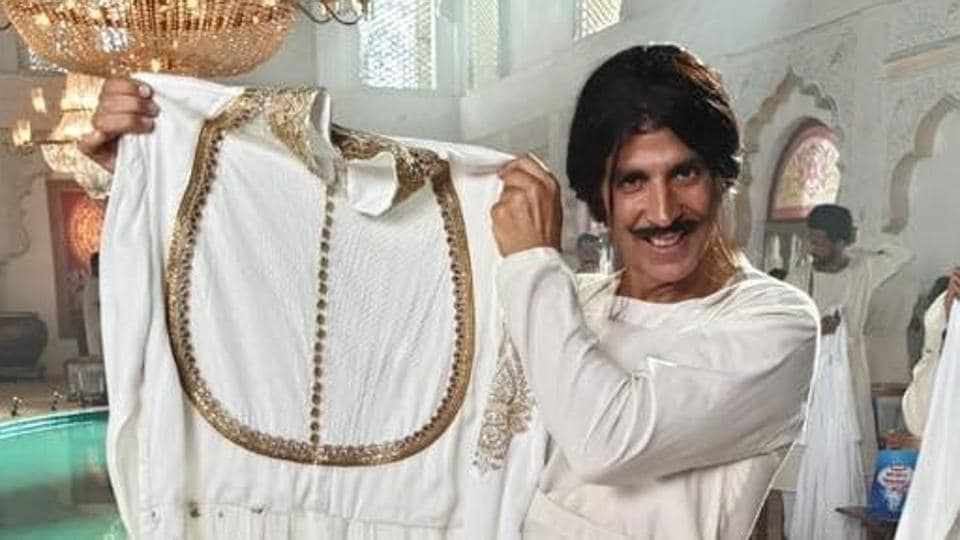 Akshay Kumar has shared this picture from a new TV commercial.